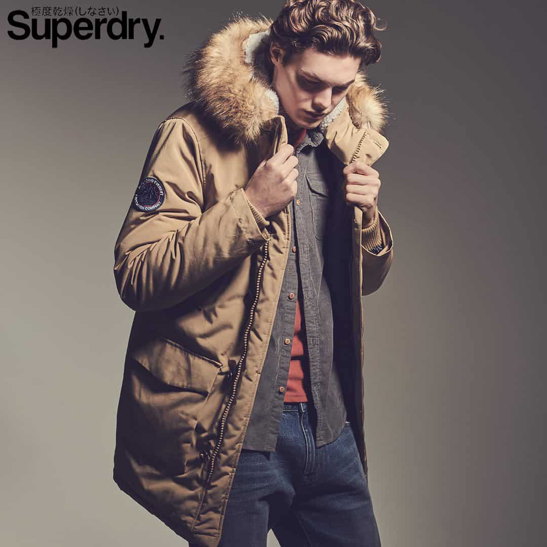 SUPERDRY AW 2020 CAMPAIGN